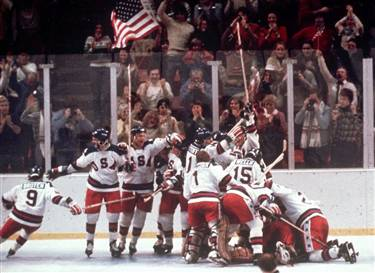 USA beats USSR 1980