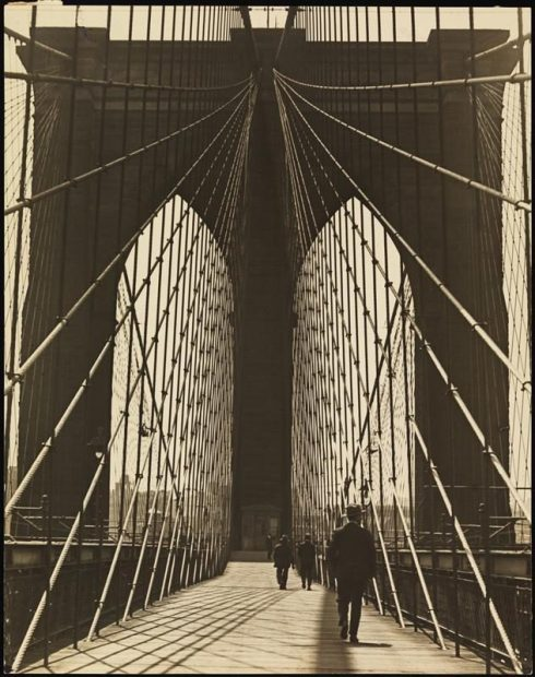 Walking the bridge 1930