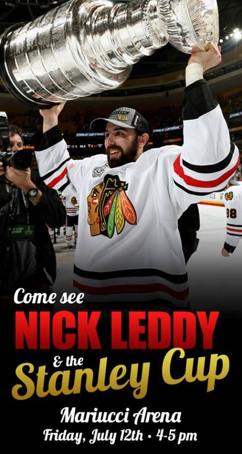 Nick Leddy Stanley Cup