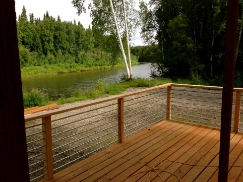New deck rail