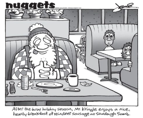 Nuggets at Sam's after X-mas