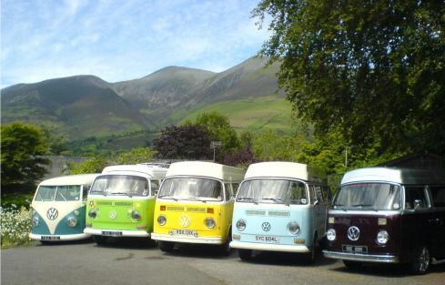Rainbow Camper Line Up