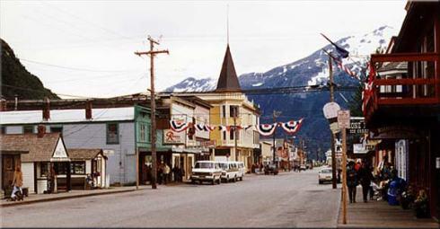 Skagway Main Street