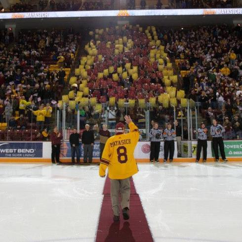 Mayasich Honored at Mariucci