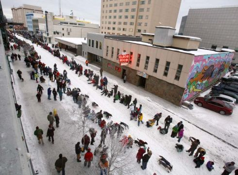 Yukon Quest 2nd Ave