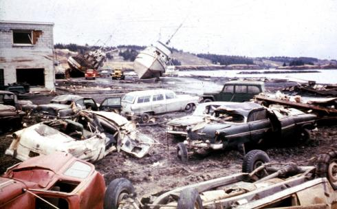 Kodiak, AK after Good Friday Quake