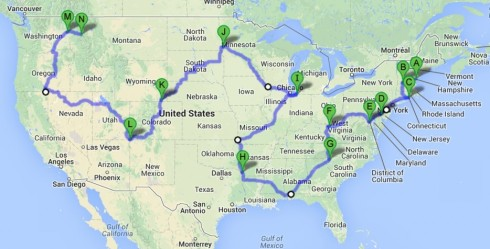 Drive-Across-the-Country