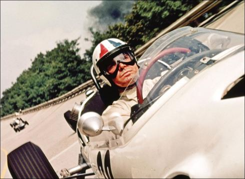 "James Garner in ""Grand Prix"""