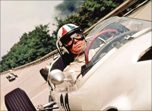 "James Garner in ""Grand Prix"""