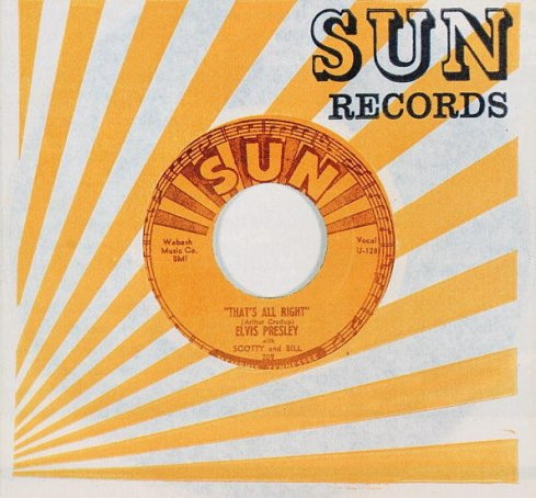 "Sun Records 45 ""That's All Right"""