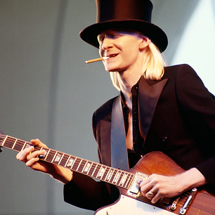 Blues legend Johnny Winter