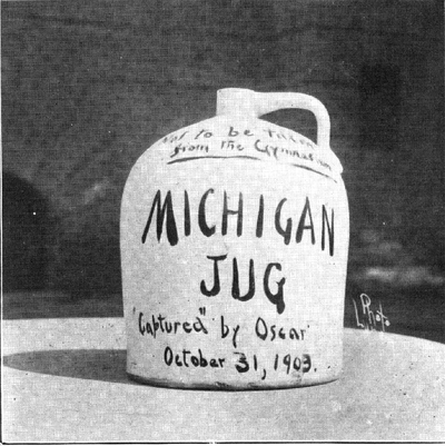 Little Brown Jug after capture
