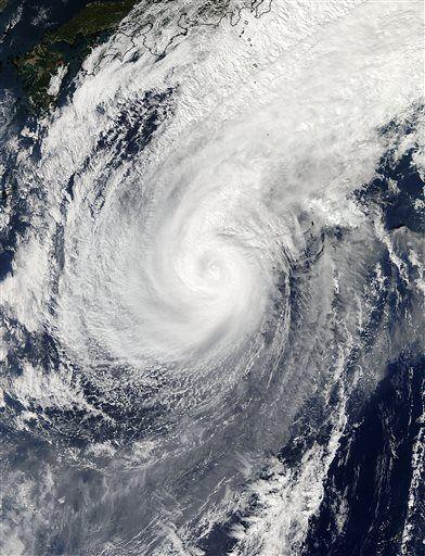 Typhoon Nuri