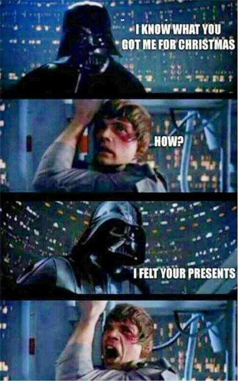 Vader Skywalker X-mas