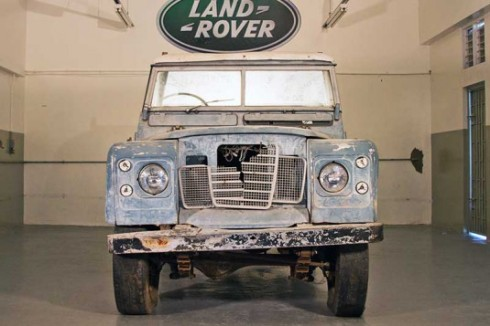 Marley's Land Rover