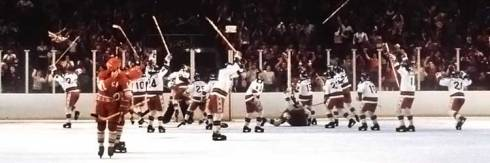USA beats the Soviets 4-3 in semifinals