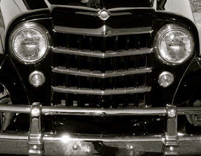 Jeepster Grill