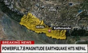7.8 Magnitude Nepal Quake
