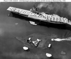 USS Bennington 1958