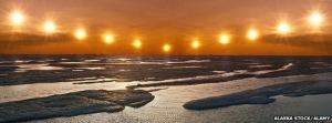 Sun's Path AK Summer Solstice