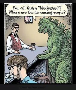 Godzilla Manhattan