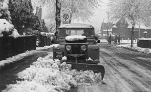 Snow plowing LR - 1963