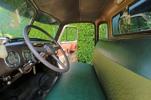 McQueen's Chevy - Interior