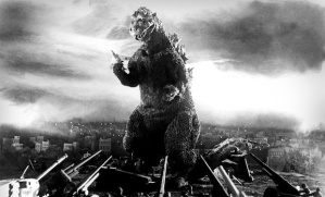 Godzilla in a scene from the film.  © Toho Co. Ltd. ALL RIGHTS RESERVED