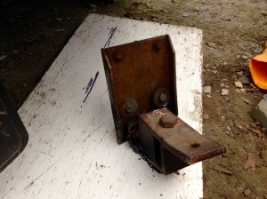 Rover's old hitch