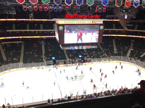 Warmups at The X