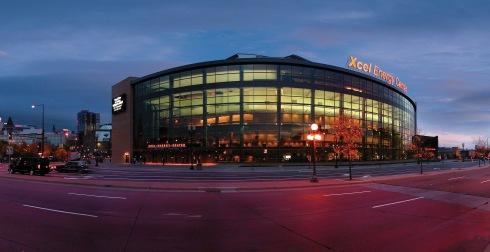 Xcel Center - exterior