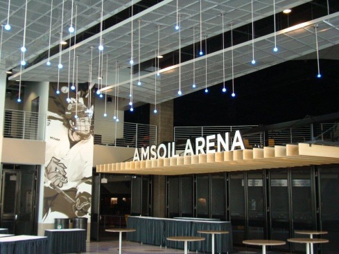 Amsoil Arena Lobby