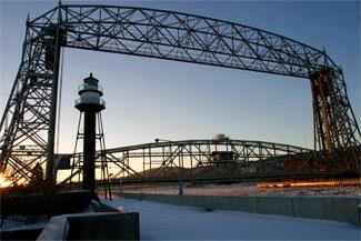 Duluth's Iconic Lift Bridge