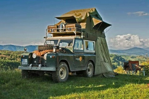Rover Camping