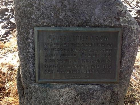 Little Crow plaque