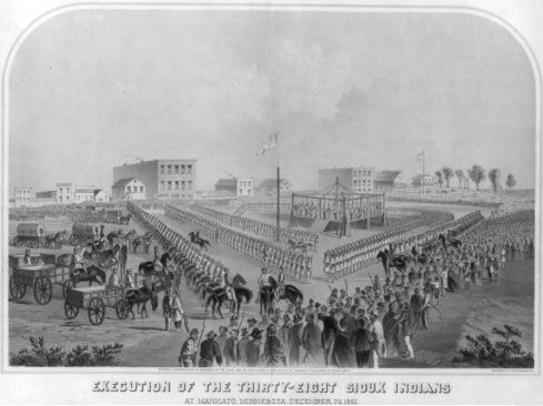 Executions at Mankato