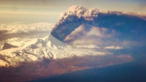 Pavlof erupts Easter 2016