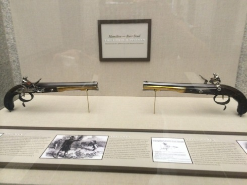 The Wogdon dueling pistols
