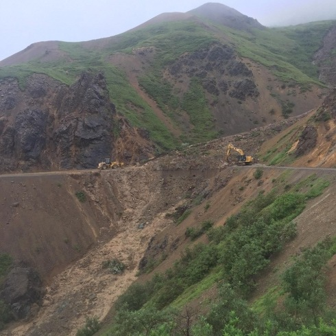 Denali Road overflow