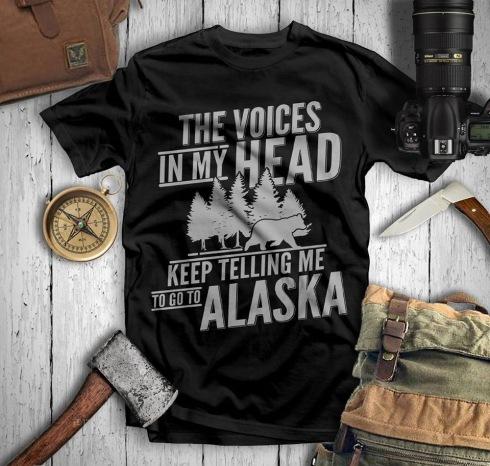Go to Alaska