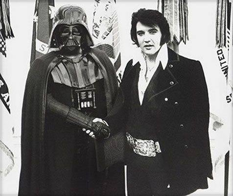 Elvis & Darth