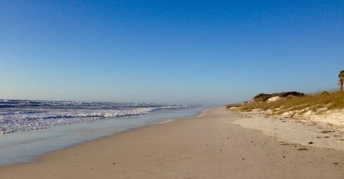 Beach on Gulf side