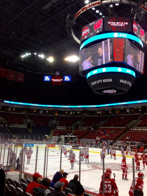 Warmups at the Schott