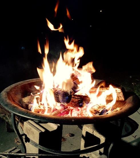 Minnesota campfire