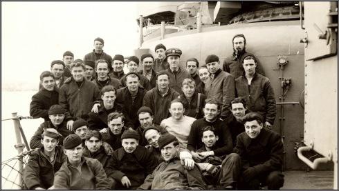 USS Bailey crew