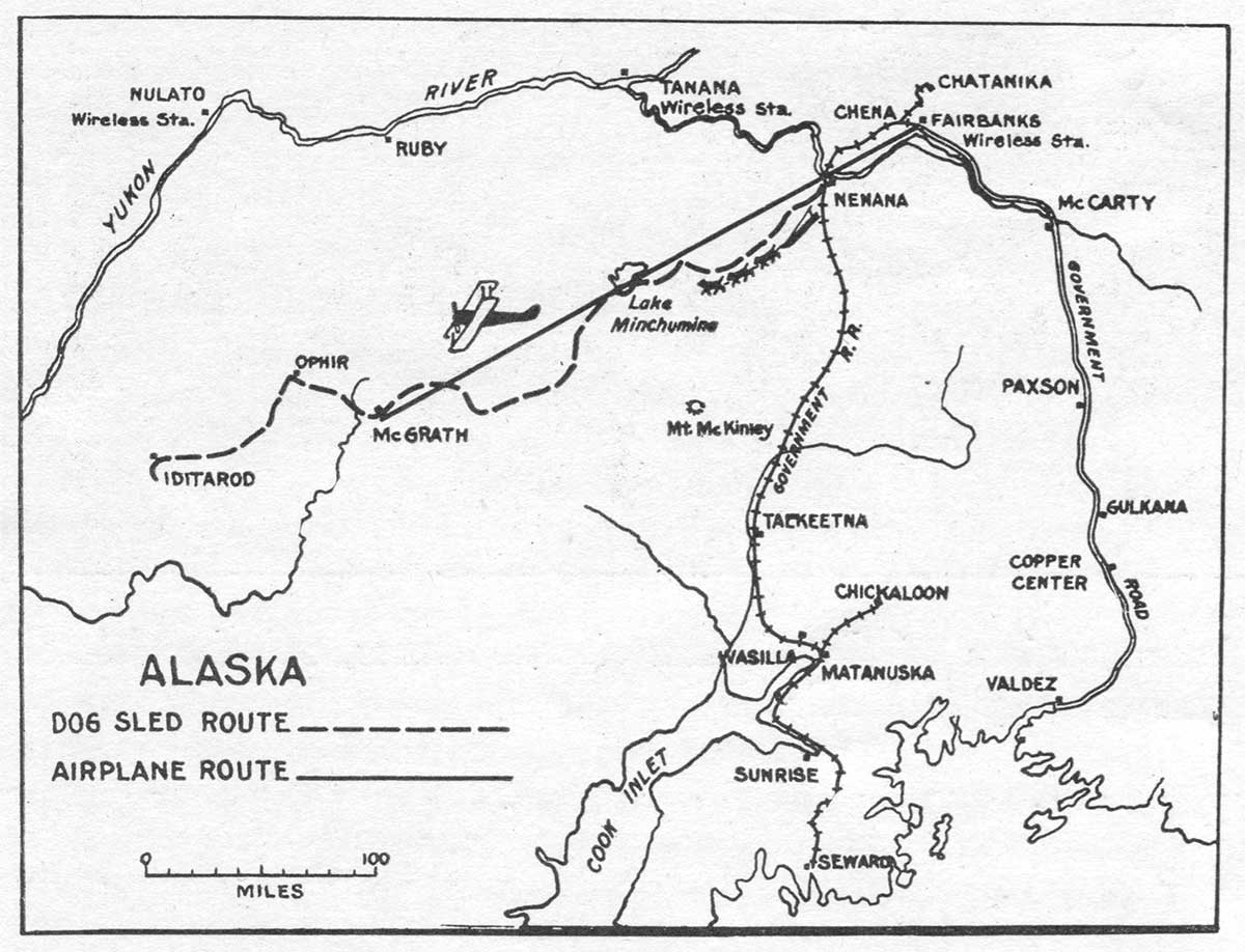 Alaska Air Mail | Circle to Circle